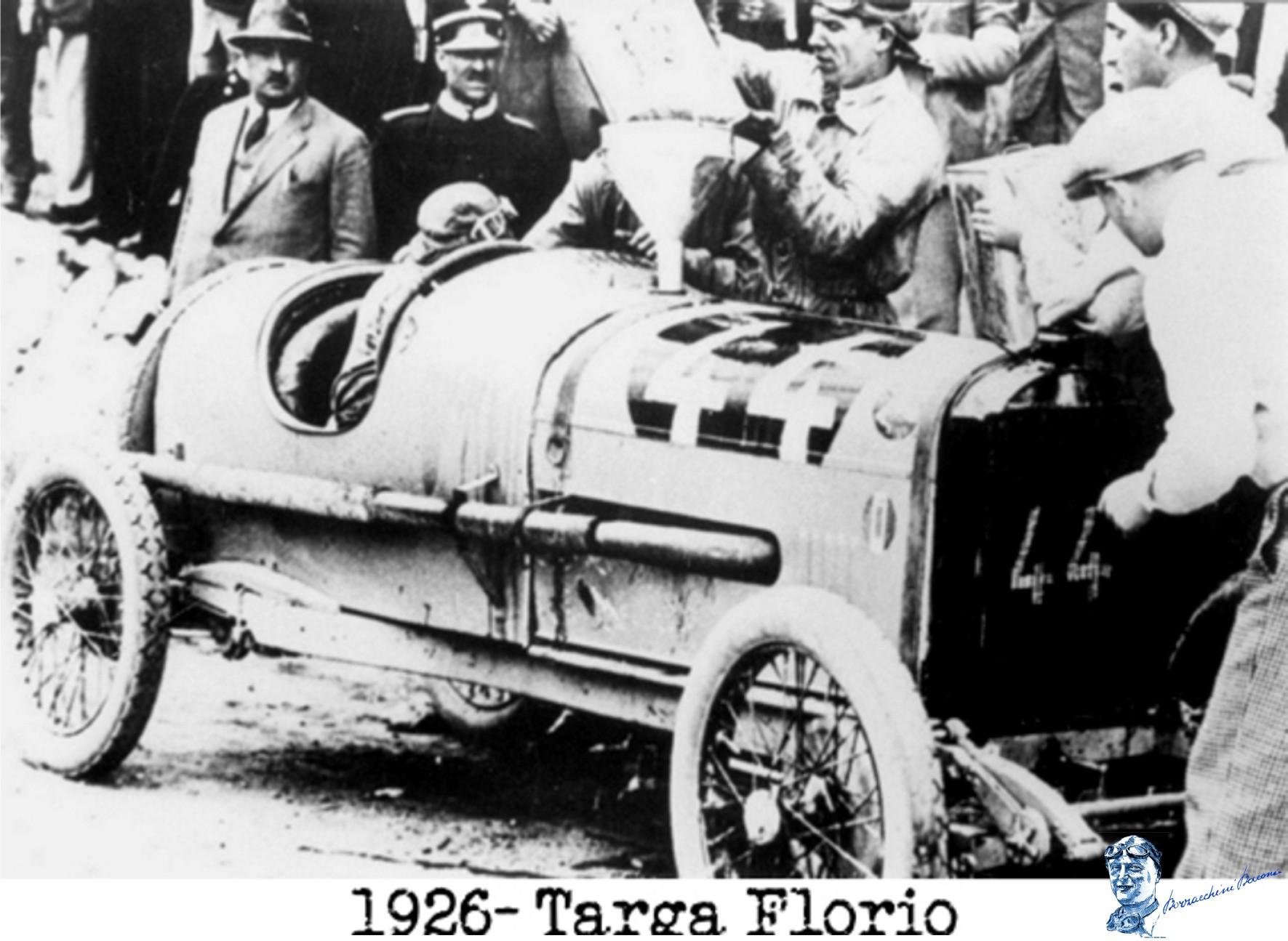 1926 targa florio 4