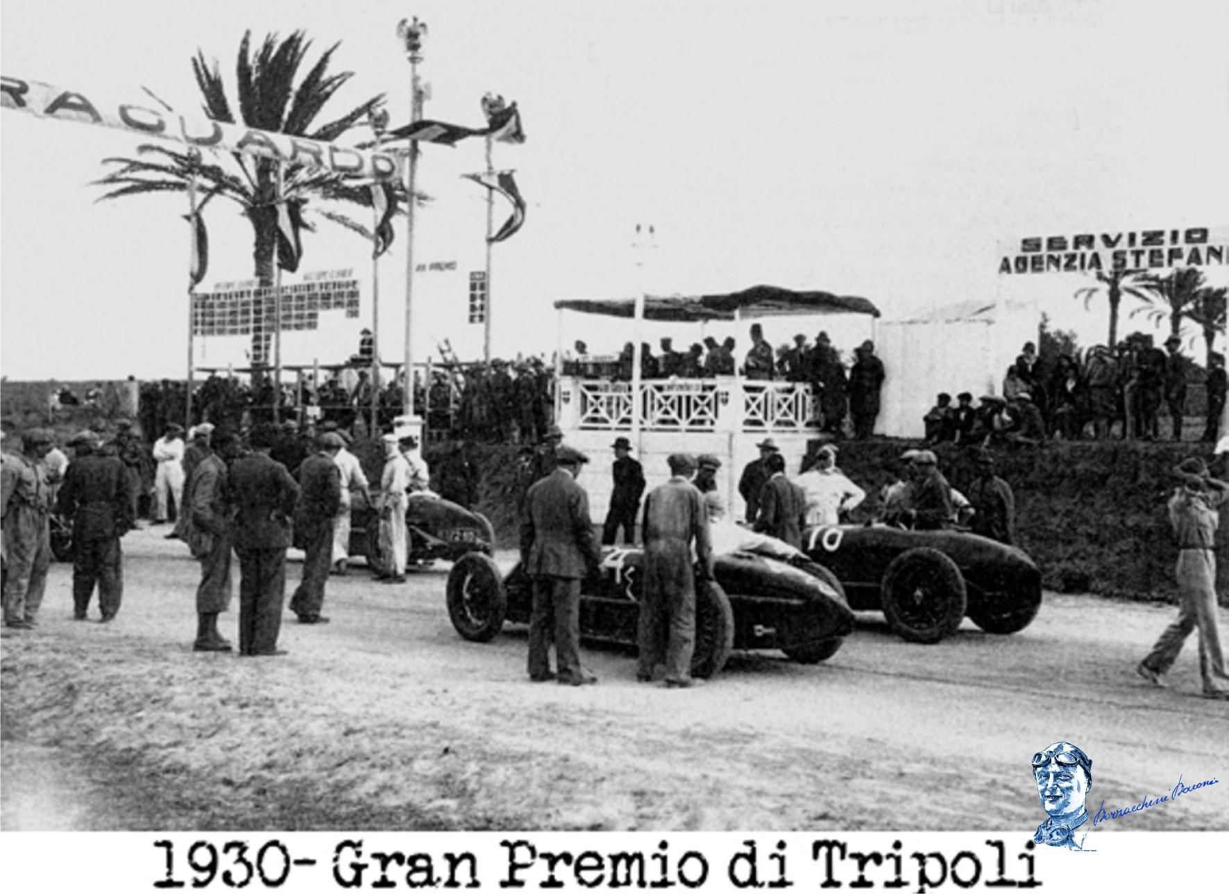 1930 gran premio tripoli 8