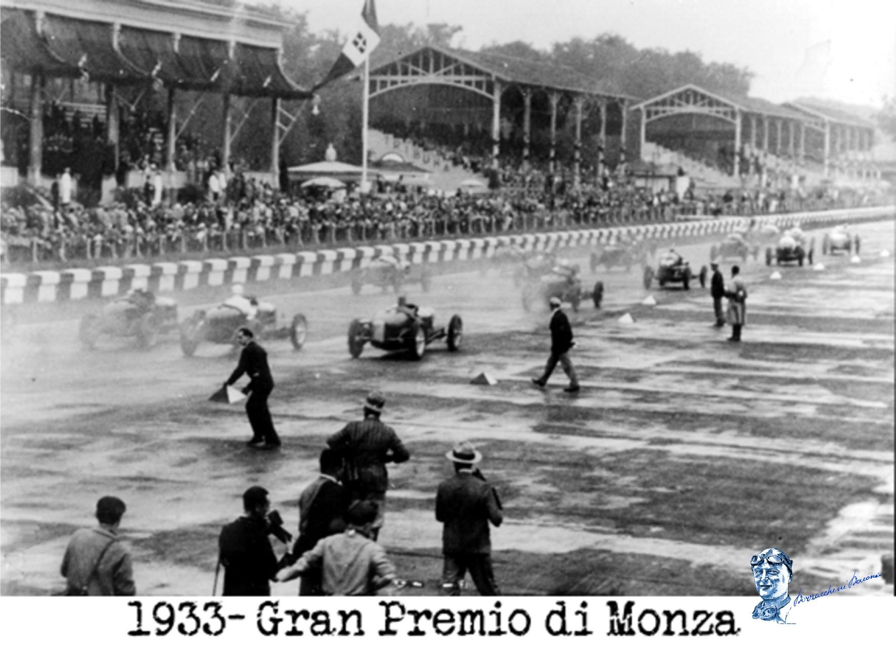 1933 gran premio monza partenza 4