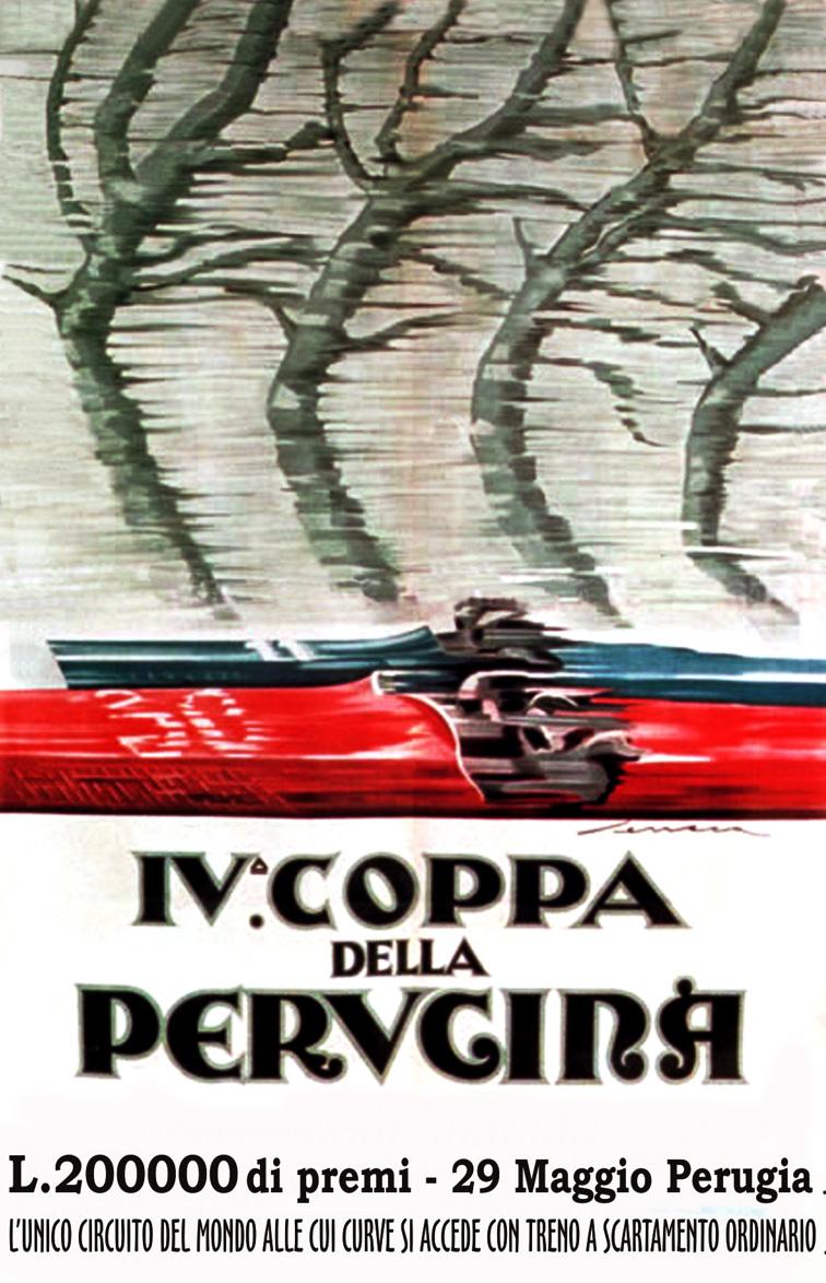 1927 COPPA DELLA PERUGINA