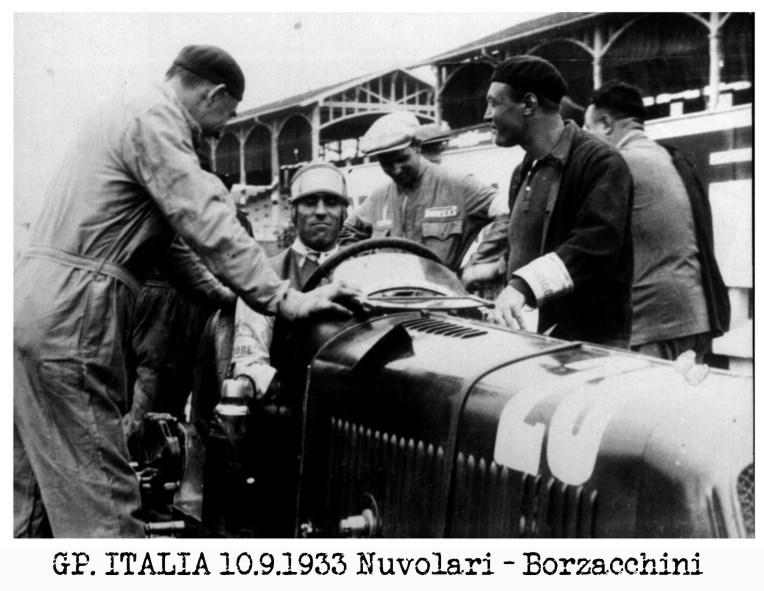 amicizia, Borzacchini, Nuvolari, Tazio, Baconin, fratellini, Monza,