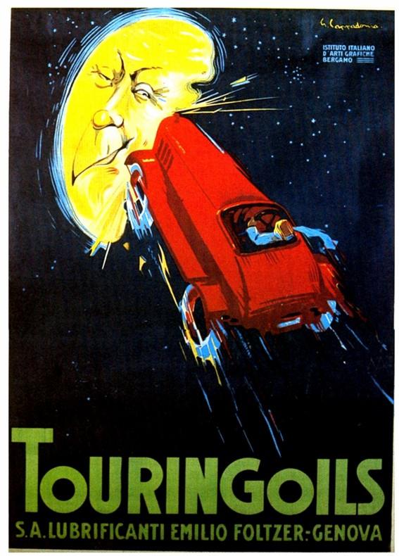 1926 touring oil