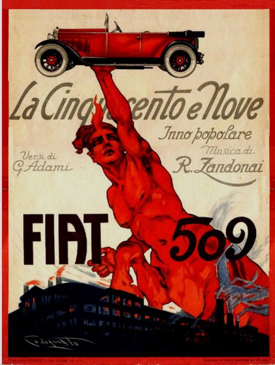 1928 fiat509