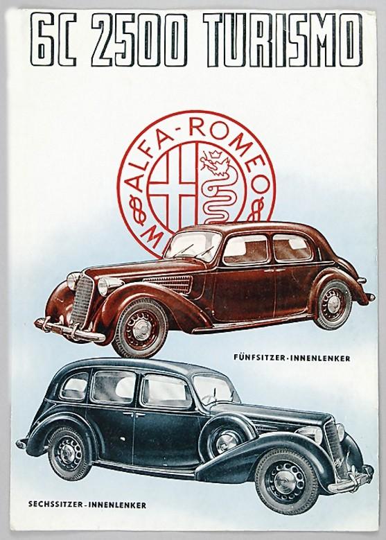1936 alfa 6c 2300