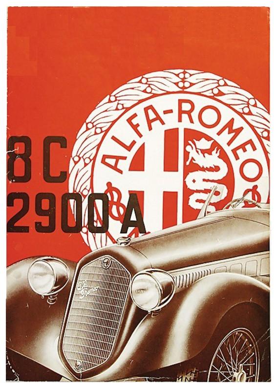 1938 alfa 8c 2900