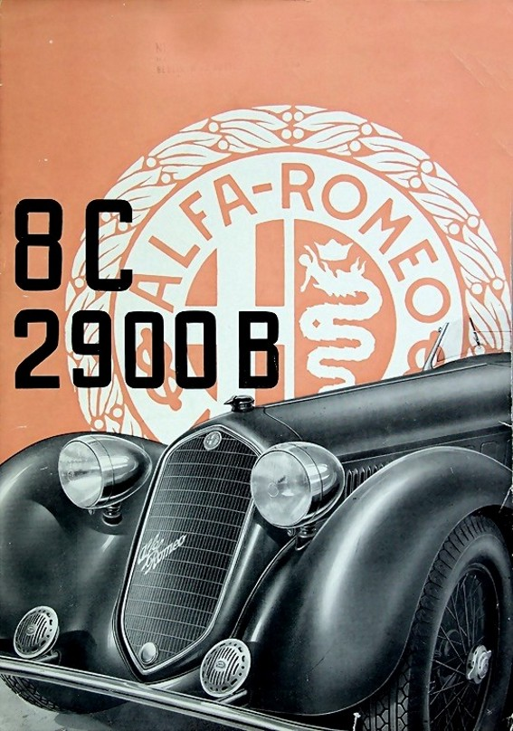 1939 alfa 8c 2900 B