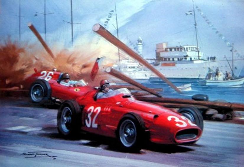 1955 Monaco GPColin e fangio