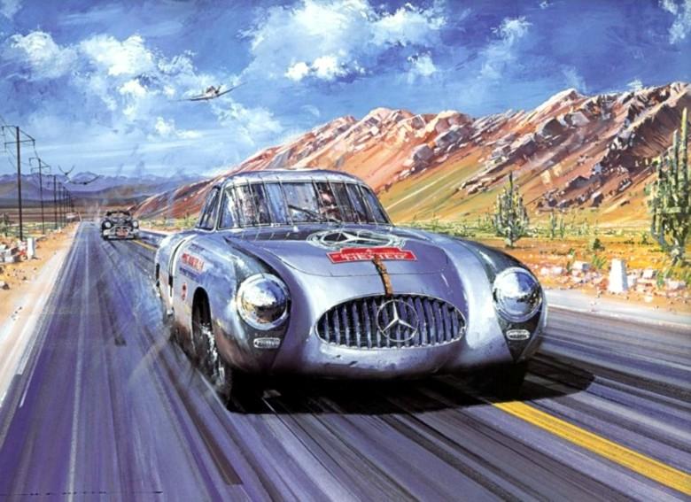 1955 mercedes panamericana