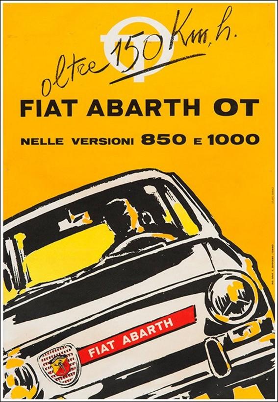 1965 Fiat-Abarth-850-P