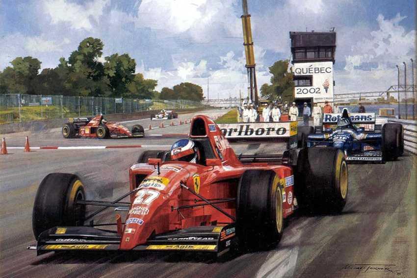 Alesi GP Monteal  1995 (pitture pg3)