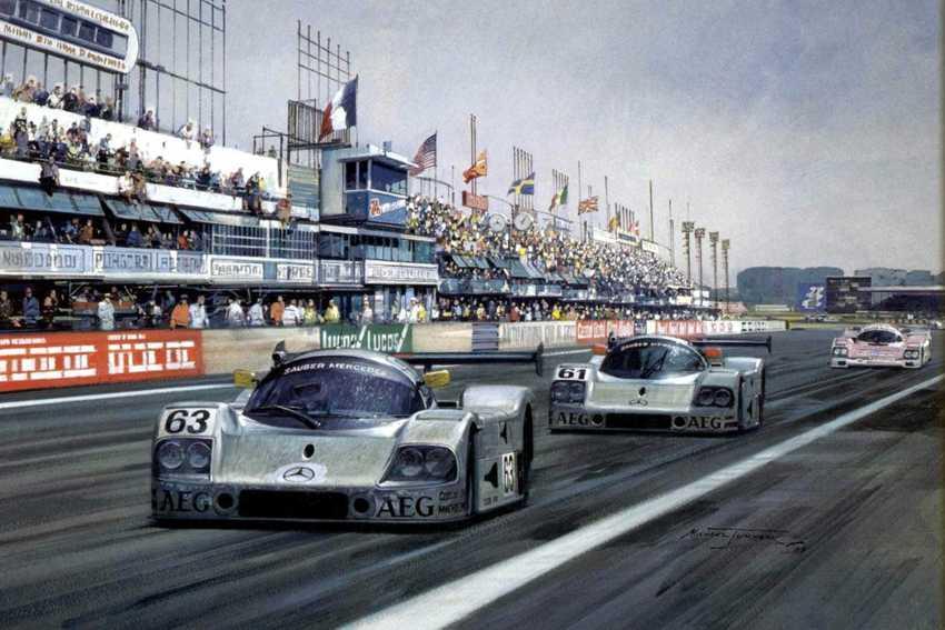 Le-Mans-1989 Mass-Reuter Mercedes (pitture pg2)