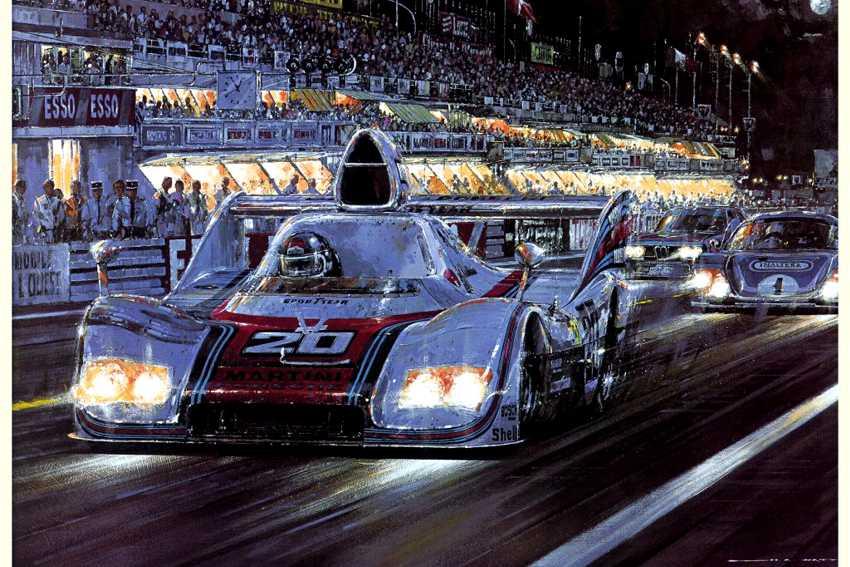 le Mans Ickx Porsche (pitture pg5)