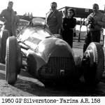 1950 gp silverstone Farina AR 158