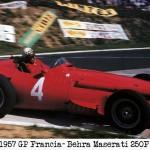 1957 francia Behra maserati 250F