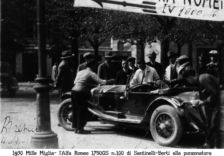 Mille Miglia 1930 alfa romeo