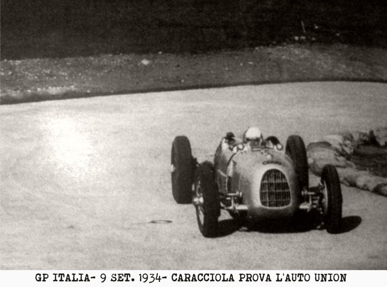 Auto Union, Caracciola, Gran Premio, Monza, Fagioli,