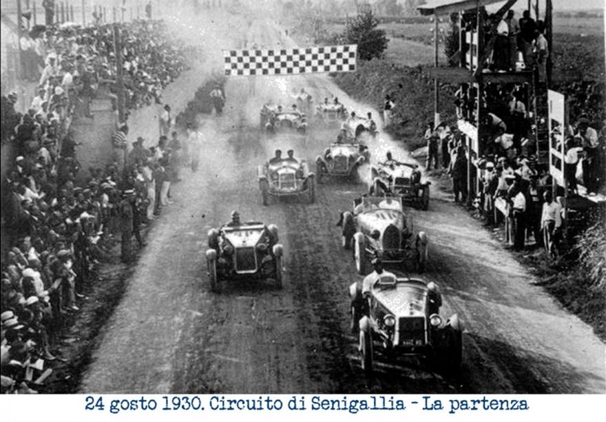 Circuito Senigallia partenza