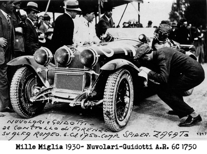 Mille Miglia 1930 Nuvolari
