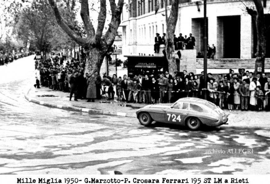Paolo Marzotto Ferrari 195S T LM