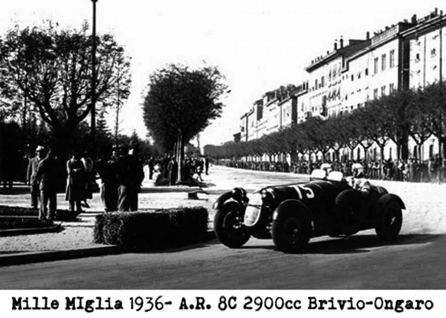Alfa Romeo Mille Miglia 1936 Brivio