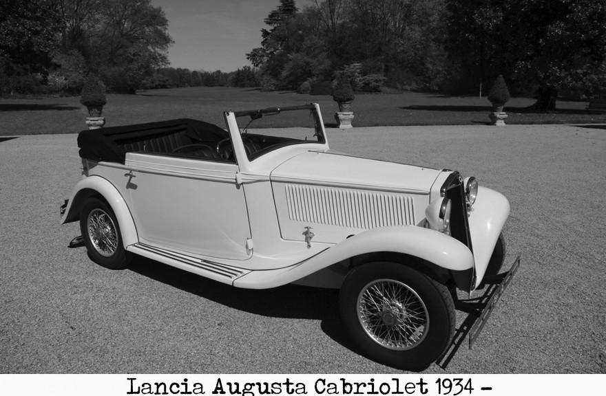 Lancia Augusta cabiolet 1934