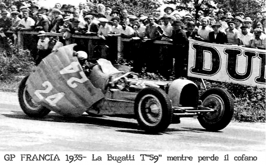 GP Francia 1935 Bugatti T59