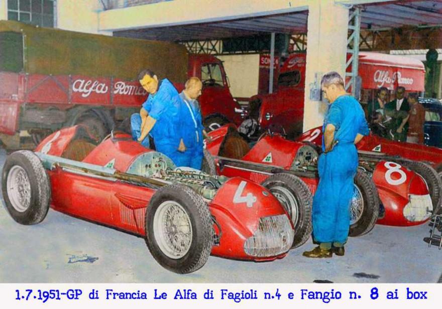 Gran Premio d'Europa 1951 Alfa Romeo