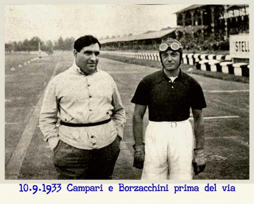 Mario Umberto Borzacchini e Campari