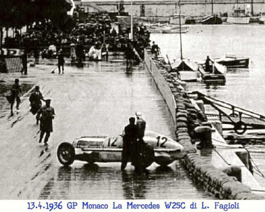 Nel Gran Premio di Monaco del 1936 si verifica un incidente analogo a quello del 1950
