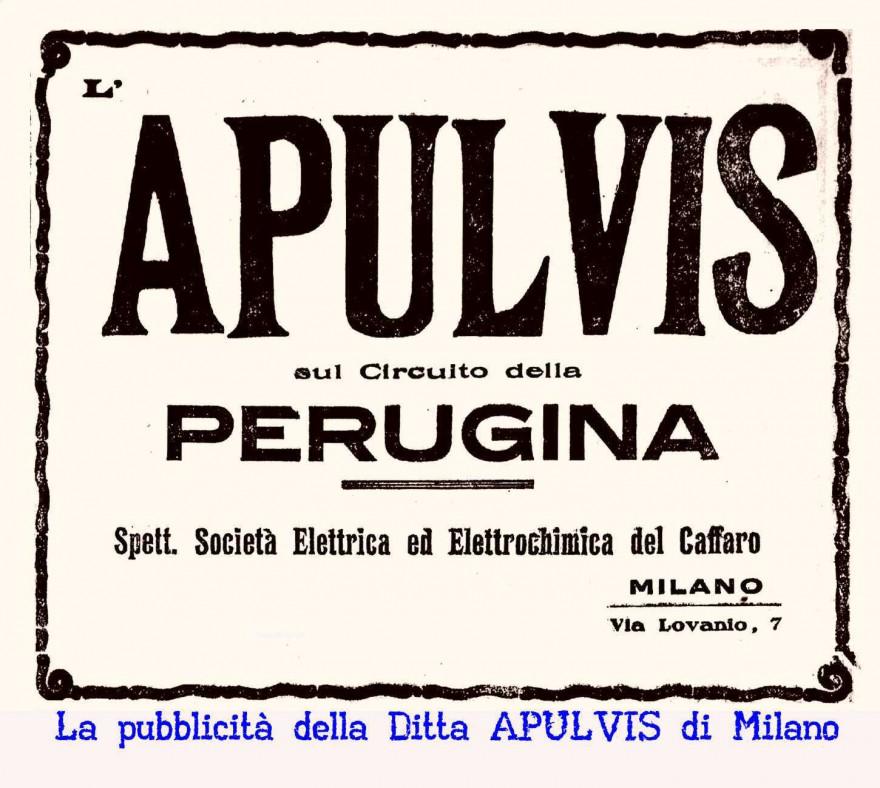 L'APULVIS una Ditta di Milano