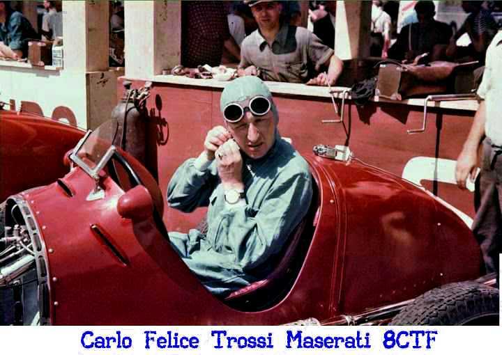 Il 7 agosto del 1938 si corre il Circuito del Montenero