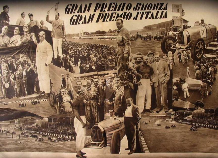 Il GP di Monza segna la vita di due Campioni come Borzacchini e Campari