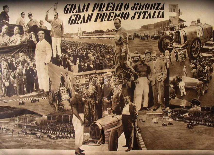 Monza, incidente, Campari, Borzacchini, 1933, Maserati, Alfa Romeo,