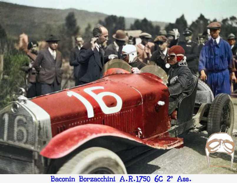 Vittoria, Varzi, Bugatti, Nuvolari, Targa Florio, Alfa Romeo,