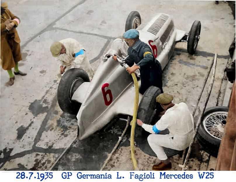 Mercedes, W25, Luigi Fagioli, GP, Germania, Nurburgring