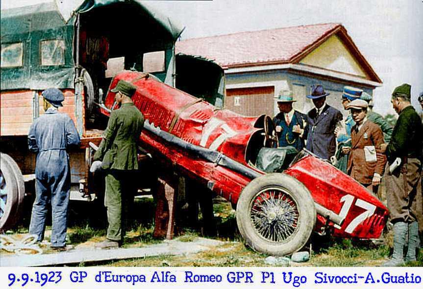 Monza, GP, Europa, 9 settembre, P1, incidente, Ugo Sivocci,