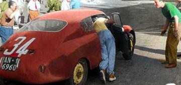 Targa Florio, 1952, Lancia, Bonetto, Cabianca, spinta,