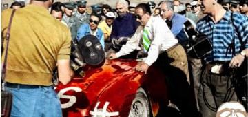 Taruffi, Targa Florio, Lancia D24, record, 1954,